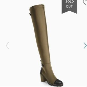 CHINESE LAUNDRY JERRY OVER THE KNEE LUG SOLE BOOT